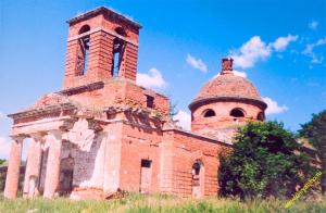 Никольский храм села Осово