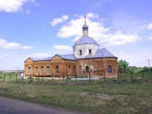 Храм в честь Успения Пресвятой Богородицы с. Остроухово